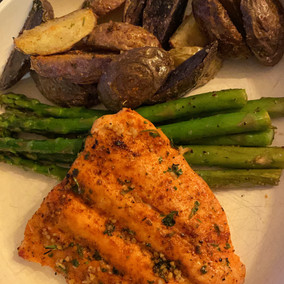Cajun Garlic Butter Salmon