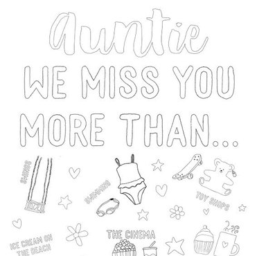 Auntie we miss you