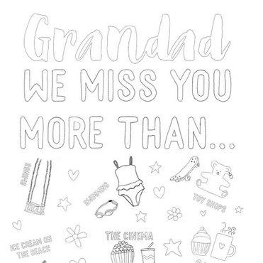 Grandad we miss you