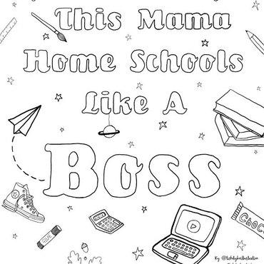 Mama Homeschools Ticketyboostudio