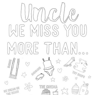 Uncle we miss you
