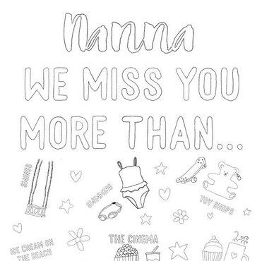 Nanna we miss you
