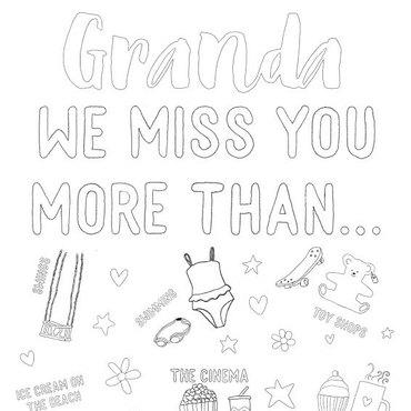 Granda we miss you