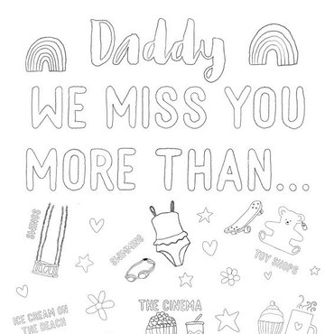 Daddy we miss you