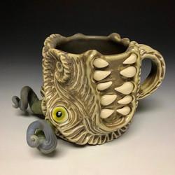 Green Dragon Mug