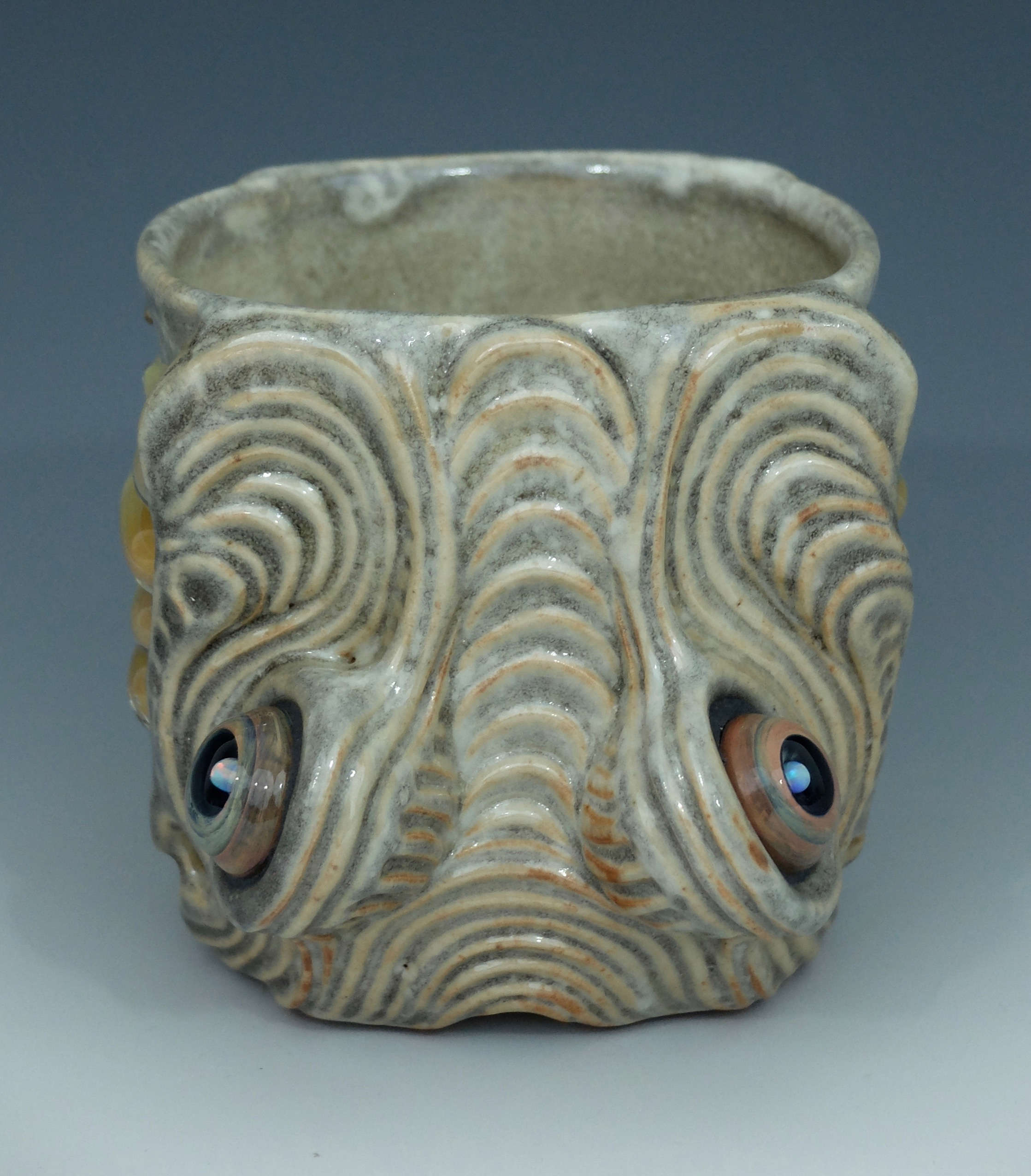 Aztec Dragon Head Mug