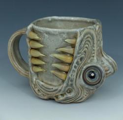 Aztec Dragon Head Mug