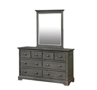 Waterford 8 Drawer Dresser with Mirror.j