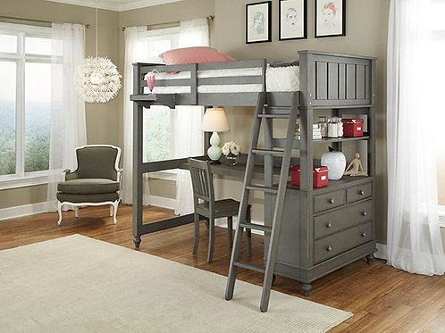 Lakehouse Twin Loft Bed