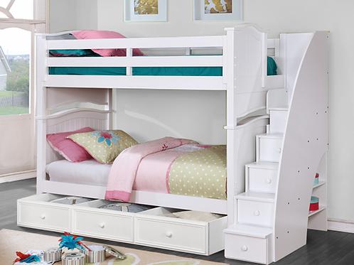 Ashton Twin Twin Bunk Bed