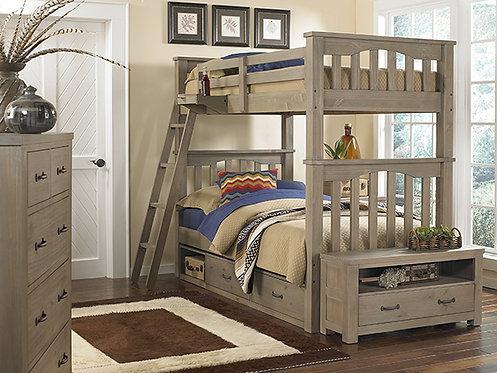 Harper Twin Twin Bunk Bed