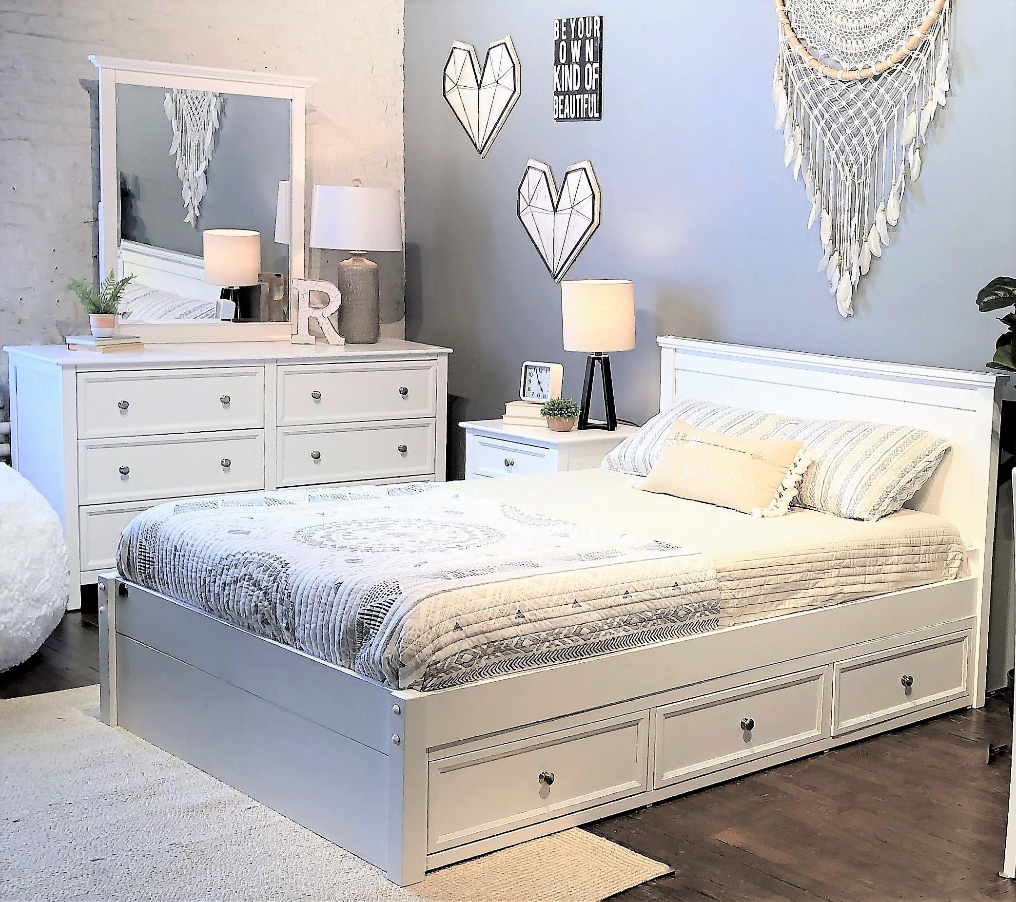 beadboard full bed