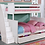 Thumbnail: Beadboard Twin Full Bunk Bed