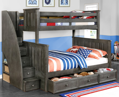 Jordan Twin Full Bunk Bed