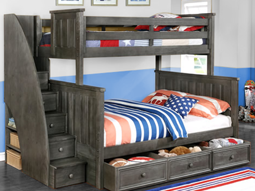 Jordan Twin Full Bunk Bed