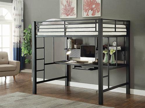 Full Workstation Loft with Desk