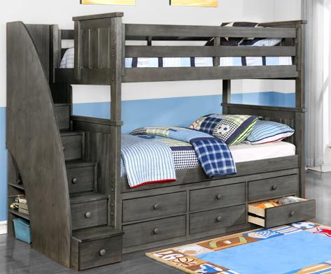 Jordan Twin Twin Bunk Bed