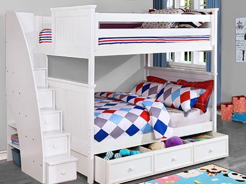 Beadboard Full Full Bunk Bed