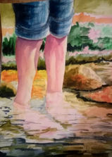 Watercolor by nadine