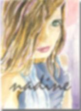 nadine - self portrait