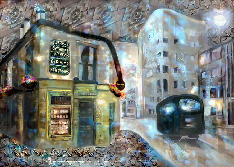 Peveril Of The Peak by Claire Riley