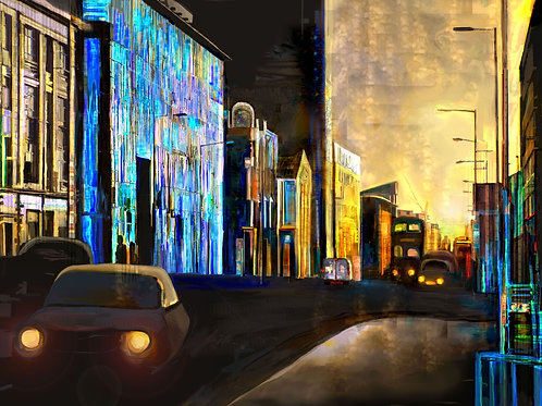 'Ancoats Towards Piccadilly' by Claire Riley