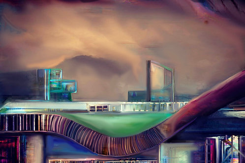 'Ordsall Cord' by Claire Riley