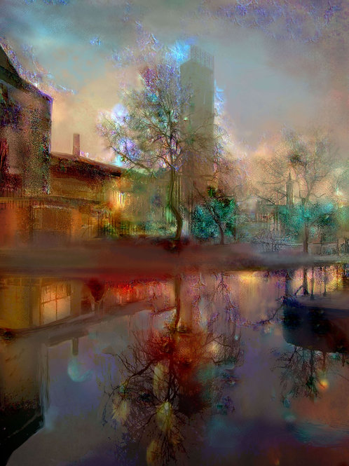 'Beetham Tower & Bridgewater Canal' by Claire Riley