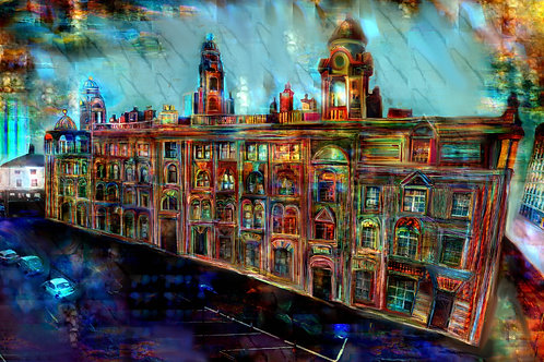 'London Road Fire Station' by Claire Riley