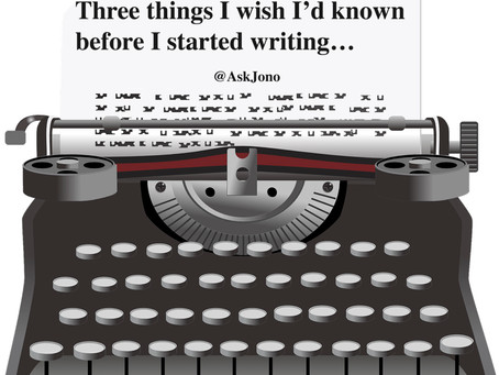 3 Things I Wish I'd Known Before I Started Writing