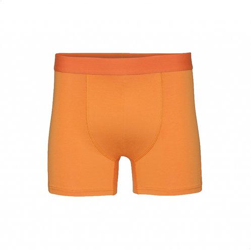 Classic organic Boxer brief Sunny orange COLORFUL STANDARD