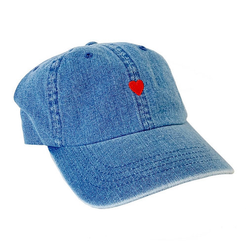 The icon cap heart - Denim BROSBI