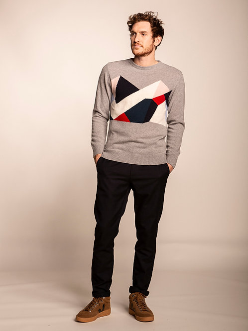 Pull Cimes Gris OLOW