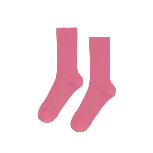 Classic organic sock Raspberry pink COLORFUL STANDARD
