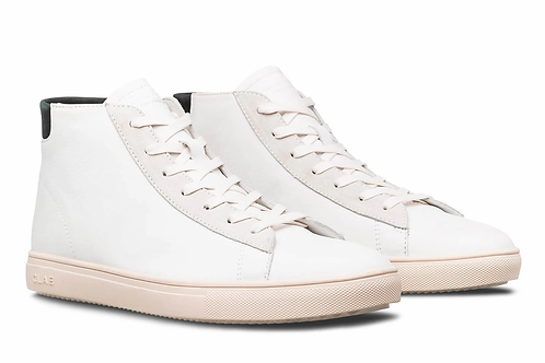 Bradley California White Milled Leather Black CLAE