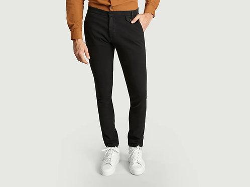 Pantalon Coton stretch noir JAGVI
