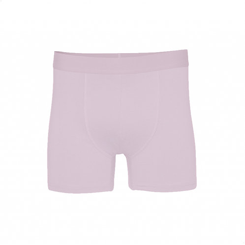 Classic organic Boxer brief Faded Pink COLORFUL STANDARD