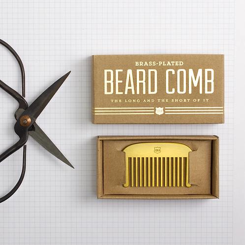 Brass Beard Comb