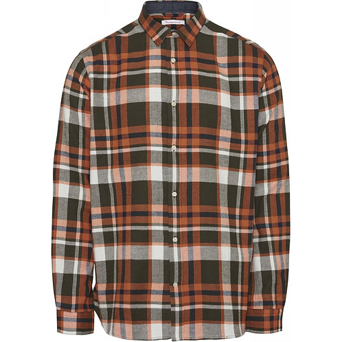 Chemise Checked Flannel KNOWLEDGE COTTON
