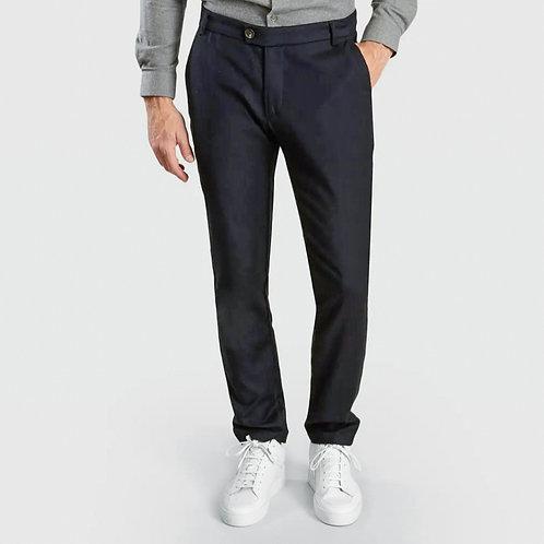 Pantalon Coton laine stretch marine JAGVI