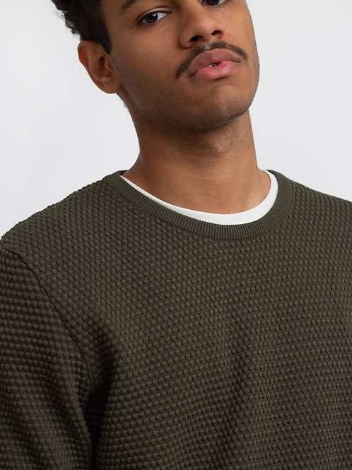 Pull o-neck sailor Forrest KNOWLEDGE COTTON