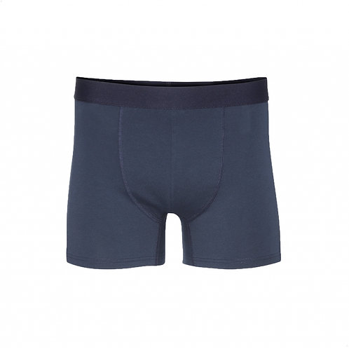 Classic organic Boxer brief Navy blue COLORFUL STANDARD