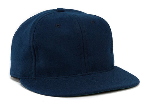 Cap Navy wool EBBETS FIELD