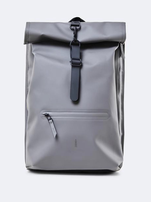 Rolltop Backpack charcoal RAINS
