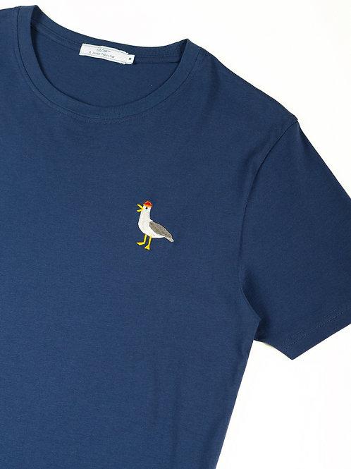 Teeshirt Mouette Bleu OLOW