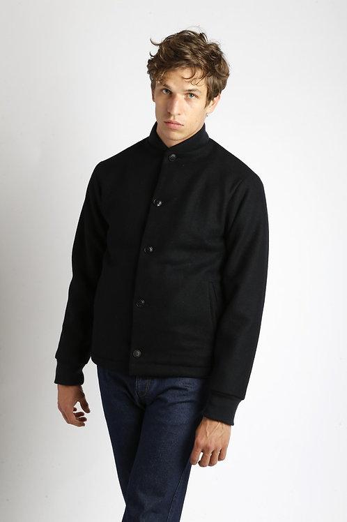 JR Melt wool jacket Navy HOMECORE