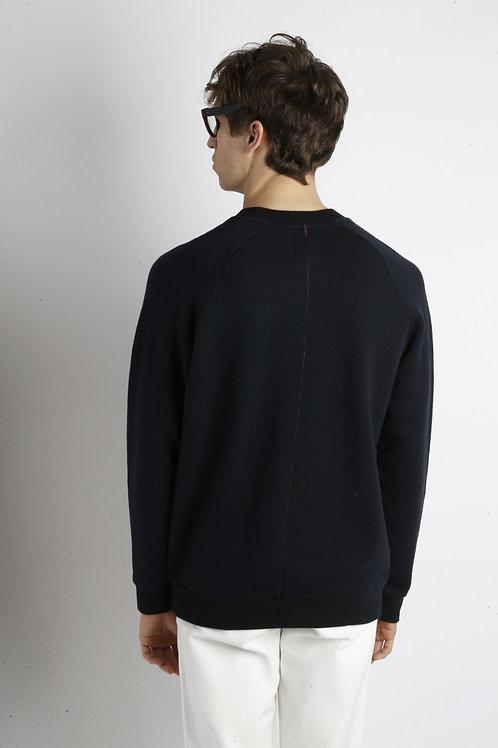 Sweat-shirt Terry Navy HOMECORE