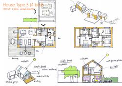 floorplan for eco-friendly housing