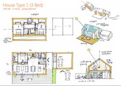 Floorplan for eco-housing