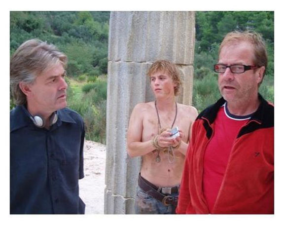 Peter Wooldridge on set with crew.jpg